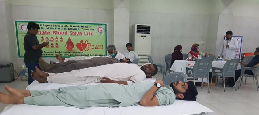 BLOOD CAMP FOR THALASSAEMIA KIDS