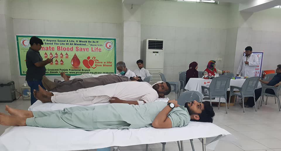 BLOOD CAMP FOR THALASSAEMIA KIDS