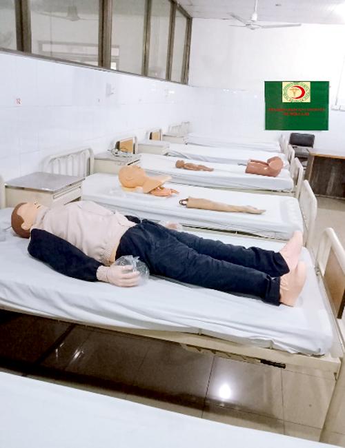 Skill Lab-Pak Red Crescent Medical College